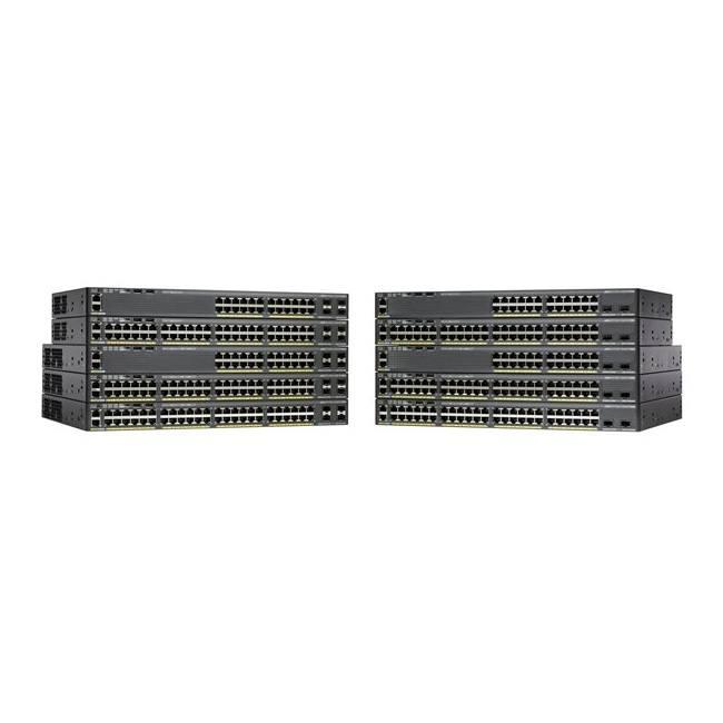 Switch Cisco Catalyst 2960X WS-C2960X-24TD-L