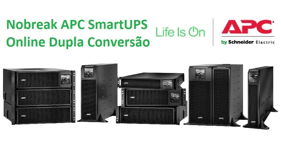 Nobreak APC SmartUPS Online Dupla Conversao