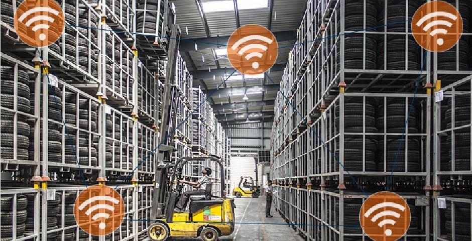 Rede Wireless WiFi para Armazém e Logística
