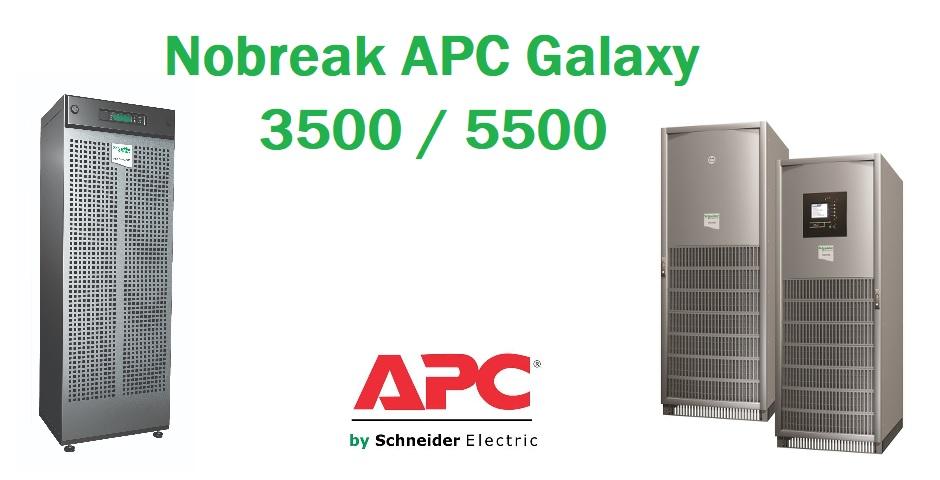 Nobreak APC Trifásico Galaxy 3500 5500