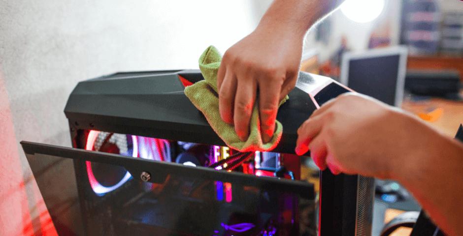 Veja como fazer a limpeza de equipamentos eletrônicos corretamente!