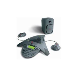SoundStation2W Polycom VTX 1000 Conference Phone - Inclui Subwoofer e Microfones externos.