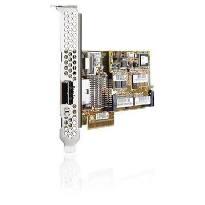 HP Placa Smart Array P222/512MB FBWC PCI-e (1x interna e 1x externa)
