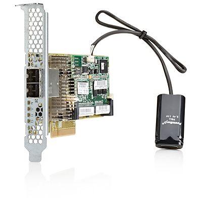 HP Placa Smart Array P431/2GB FBWC PCI-e (2xExt)