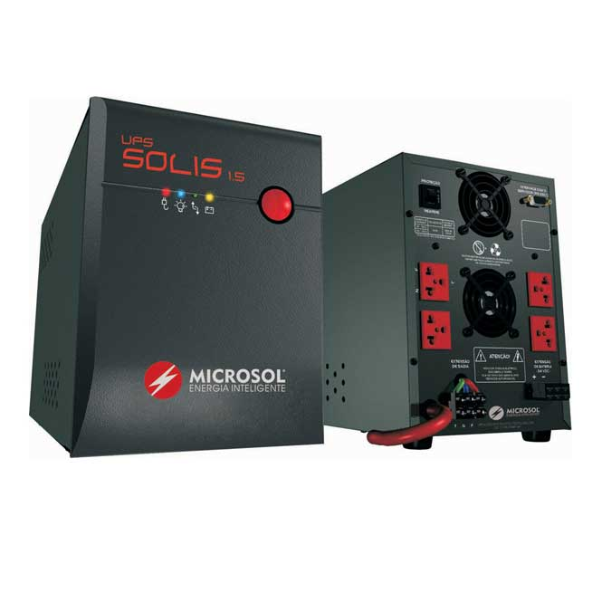 Nobreak APC Solis 1.5 Kva Li Aut/115 Nn Microsol