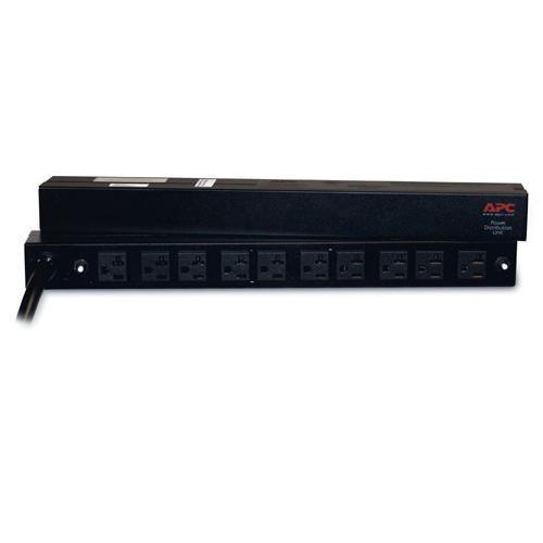Rack PDU APC  AP9560 Basic, 1U, 30A, 120V, (10)5-20 PARA Rack AR2105BLK