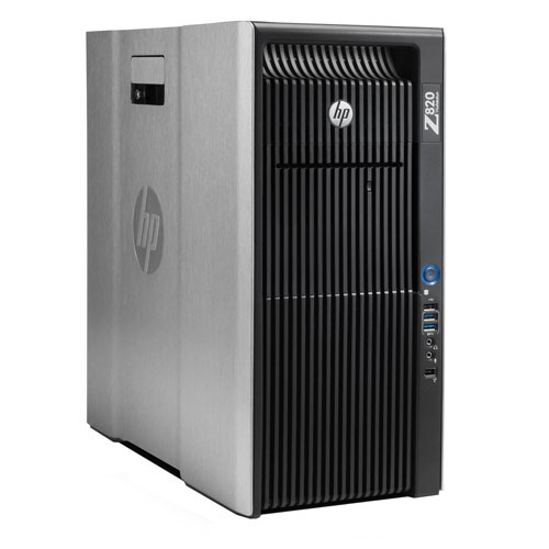 Workstation HP Z820/Xeon E5-2620/8GB/1TB/DVD+/-RW/ Windows 7 Professional