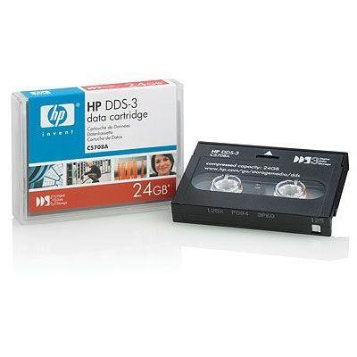 CARTUCHO DE DADOS HP DAT DDS-3 (125M) 24GB
