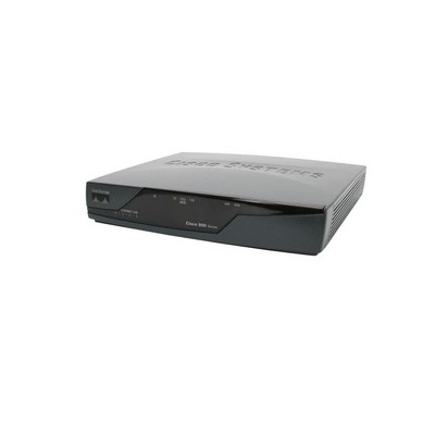 CISCO877-SEC-K9 - Cisco Roteador VPN com 1 WAN ADSL + 4 LAN 10/100 + Security Plus