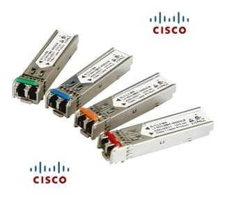 100BASE-FX SFP module for 100-Mb ports, 1310-nm wavelength, 2km over MMF