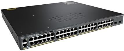 Switch Cisco 48 Portas Gigabit POE 2960XR Catalyst WS-C2960XR-48FPD-I