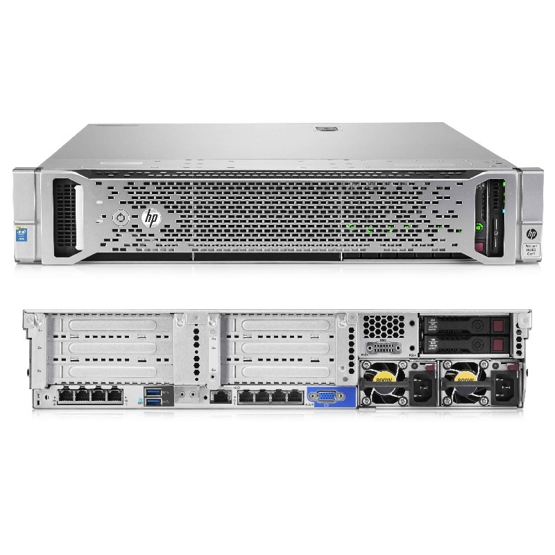 Servidor HP Proliant DL380 Gen9, 2 x Deca-Core E5-2650  2 x 16GB 2 x 600GB 781029-S05