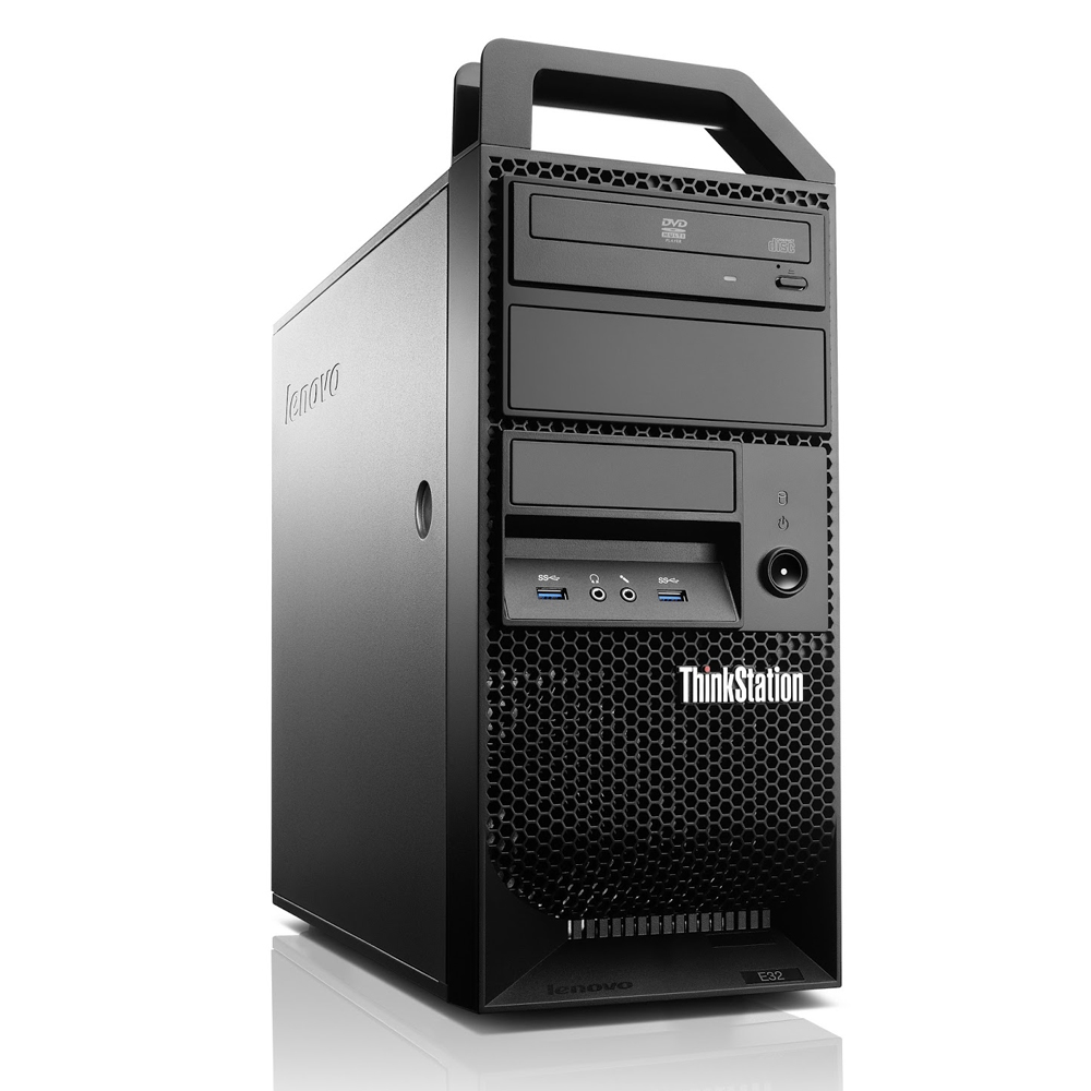 Lenovo 30A10041BR Workstation E32 QuadCore CORE-E3 8GB 500GB