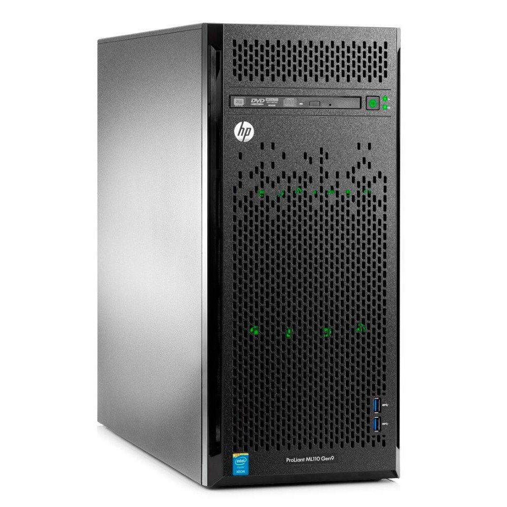 Servidor HP ML110 Gen9 Intel Core E5 8GB 1TB 799112-S05