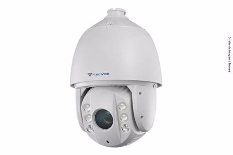 Camera IP Speed Dome IP IR 20 X 16 1.3 Mega Pixels (960p@30fps)  TECVOZ THK-ISP13IR