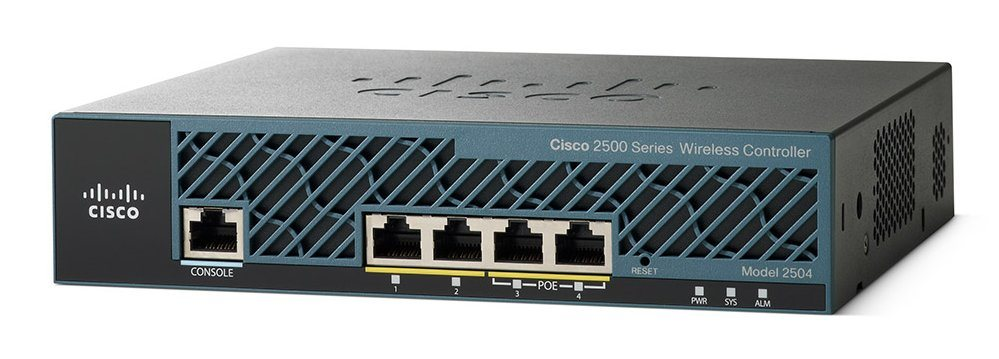 Controladora Wireless Cisco 2504 com 5 Licenças para AP AIR-CT2504-5-K9
