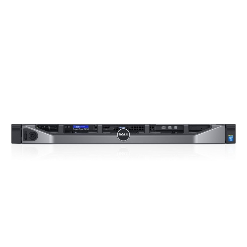 Servidor Dell R230 PowerEdge Xeon E3 8G 4TB DVD 210-AEXC-273L