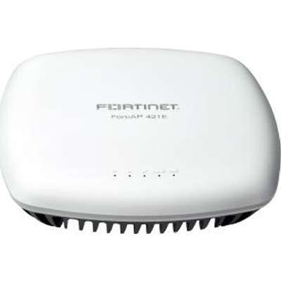 Access Point FortiAP-421E Indoor wireless AP 2 x GE RJ45 port 802.11 a-b-g-n-ac WAVE 2 dual concurrent dual band FAP-421E-N