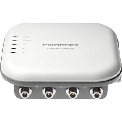 Access Point FortiAP-S422E Outdoor Cloud or FortiGate Managed wireless AP 2 x GE RJ45 port 802.11 a-b-g-n-ac WAVE 2 FAP-S422E-N