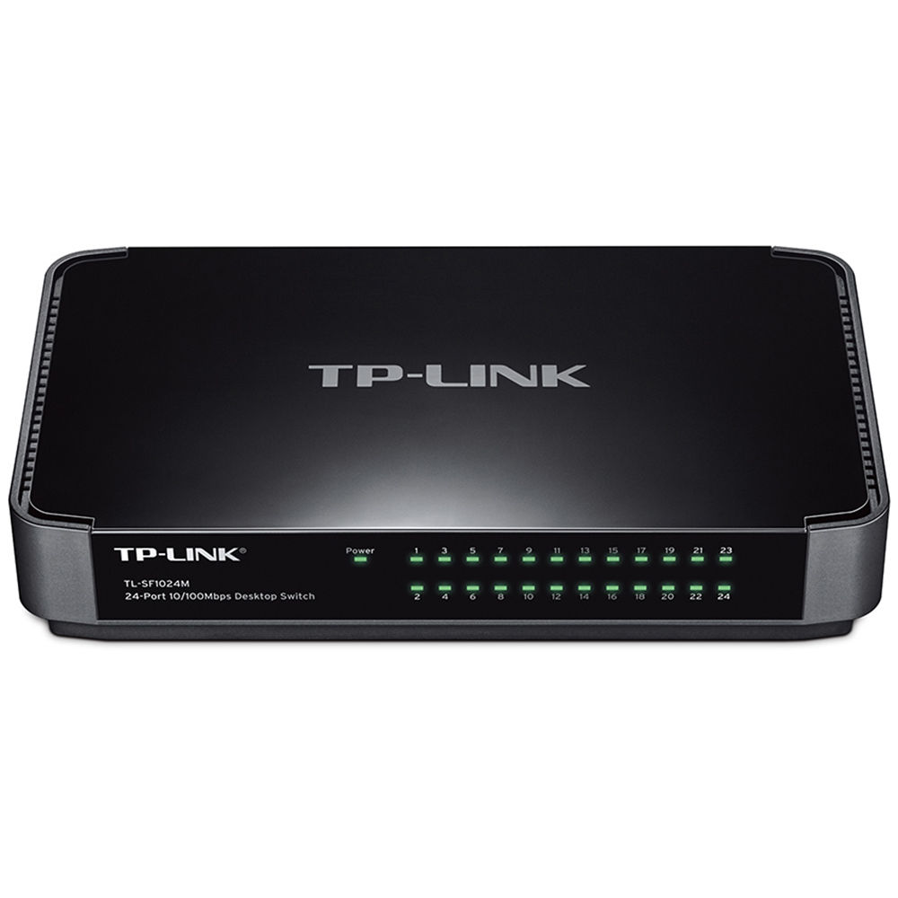 Switch TPLink 24-port 10/100M Desktop Switch RJ45 ports TL-SF1024M
