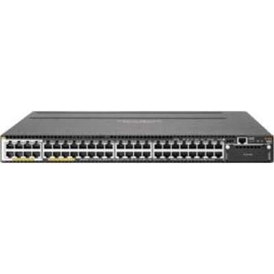 Switch HPE Aruba 3810M 40 portas Gigabit 8 portas Smart Rate PoE+ RJ-45 1 slot para expansão JL076A
