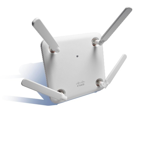 Access Point Cisco Aironet 1852e Indoor external antennas AIR-AP1852E-Z-K9C Dual-band, controller-based 802.11a/g/n/ac, Wave 2, configurable
