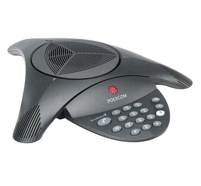 Telefone para Audioconferência Polycom SoundStation2 Não Expansível (sem display) (110V)