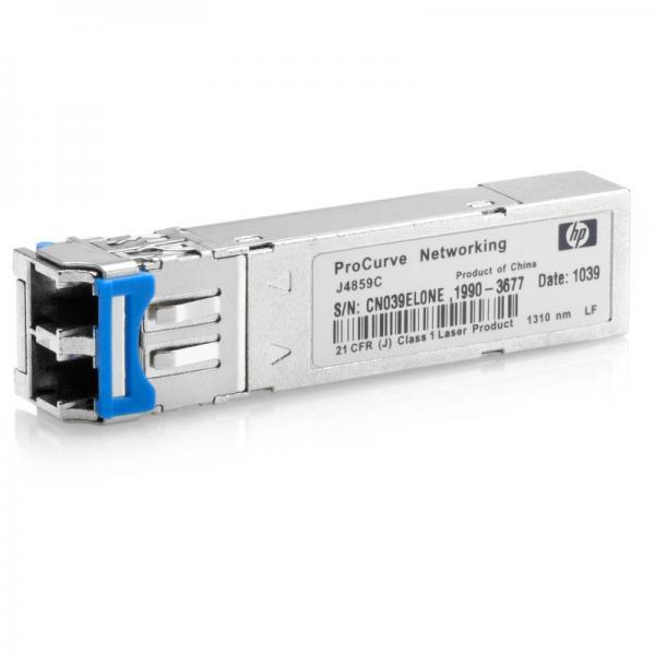 GBIC 100 MbE multimodo HPE X111 100M SFP LC FX Transceiver J9054C