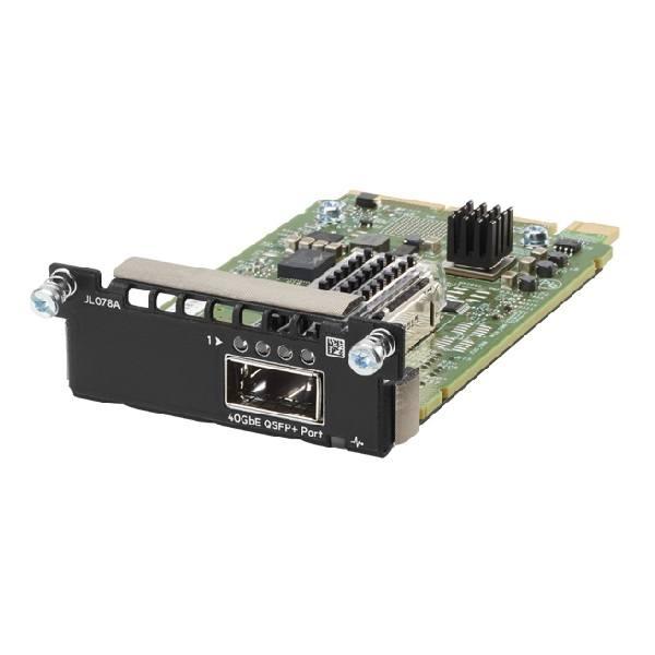 Módulo com quatro slots 1/10 GbE SFP+ Aruba 3810M 4SFP+ Module JL083A