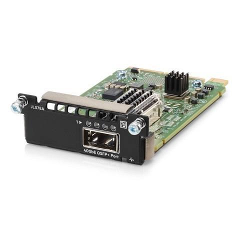 Módulo com um slot 40 GbE QSFP+ Aruba 3810M 1QSFP+ 40 GbE Module JL078A