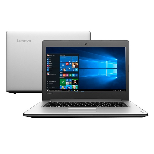 Notebook Lenovo B320-14IKBN  i5-7200U  4GB  500GB  W10 Pro  Tela Full HD 81CC0004BR