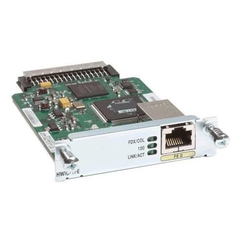 Cisco HWIC-1FE 1-Port Fast Ethernet High Speed WIC card