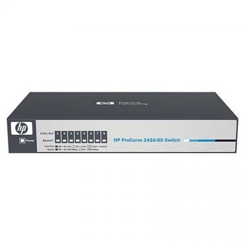 SWITCH HP PROCURVE V1410 J9559A V1410-8G 8 PORTAS 10/100/1000MBPS RJ45
