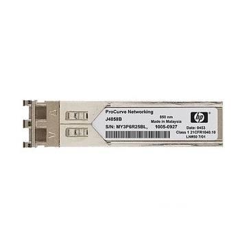 Cartao mini-GBIC HPN JD494A X124 1000BaseLX monomodo conector LC ( Substituto do 3CSFP92 )