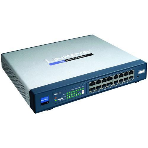ROTEADOR CISCO RV016 VPN 16-PORT 10/100